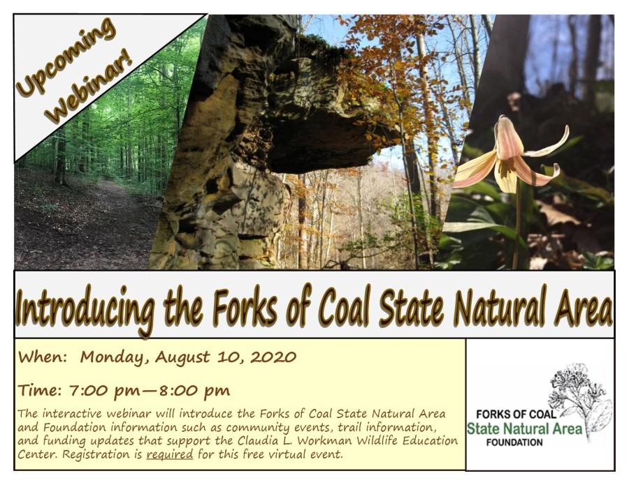 Forks of Coal Webinar Flyer